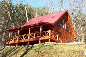 """""""New"""" Hidden Gem Retreat Log Cabin"""