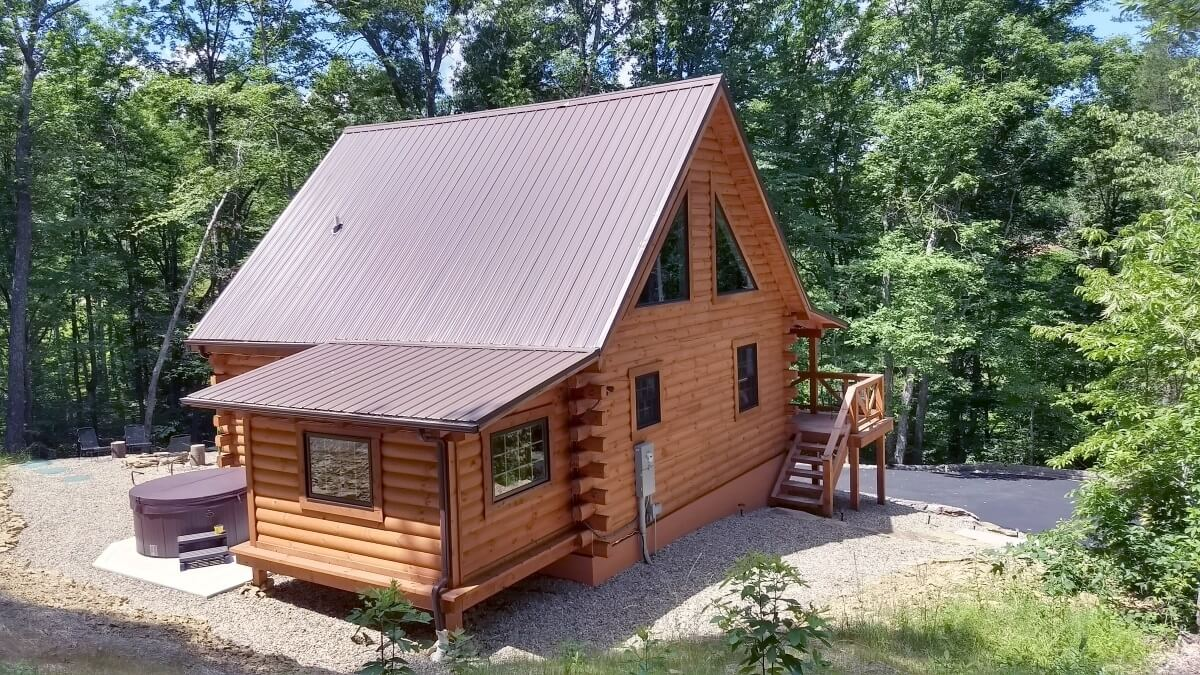 Groovy Carefree Cabins Llc Hocking Hills Log Cabin Rentals Best Image Libraries Sapebelowcountryjoecom