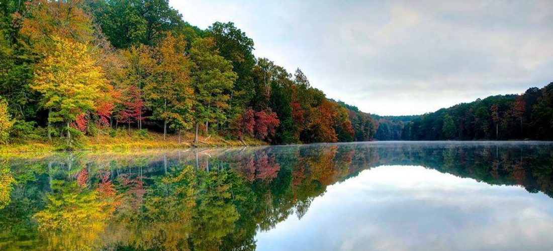 Rose Lake in Hocking Hills